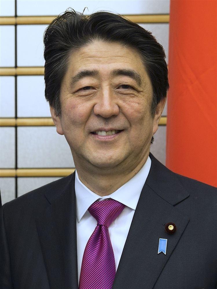 Shinzo Abe httpsuploadwikimediaorgwikipediacommonsee