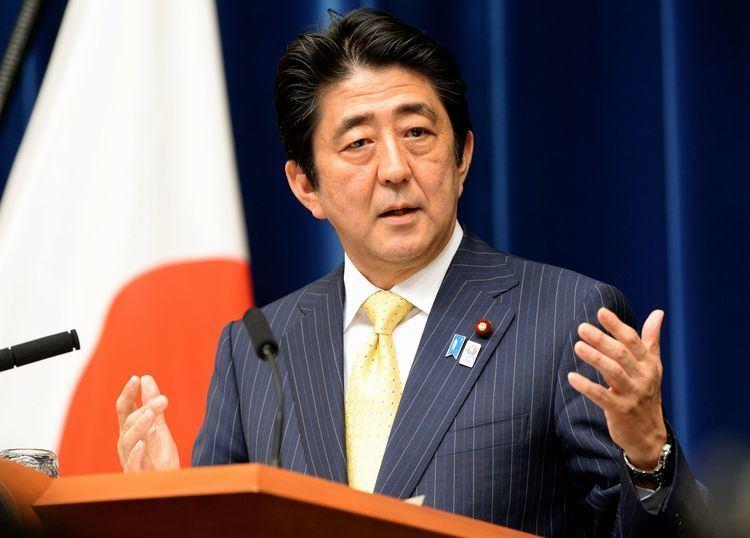Shinzō Abe Shinzo Abe Alchetron The Free Social Encyclopedia