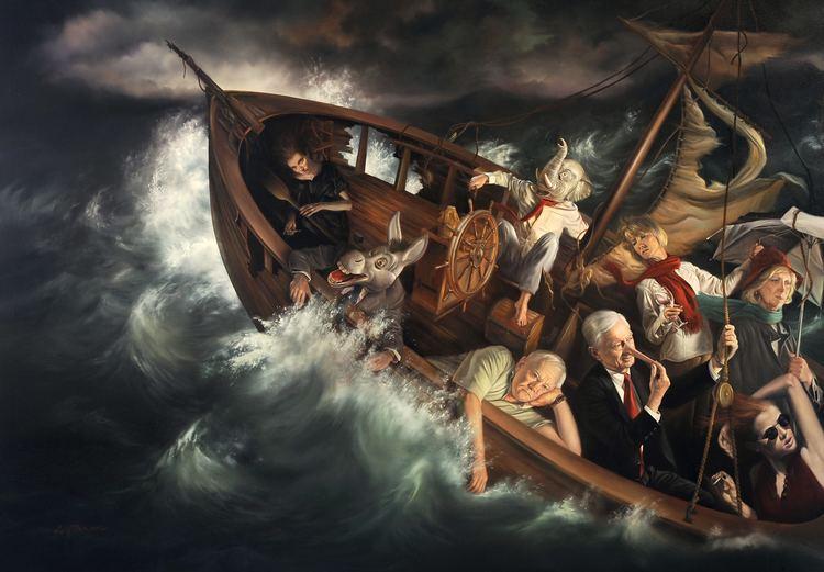 Ship of Fools (painting) PaintingsDavid M Bowers