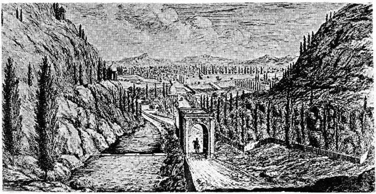 Shiraz in the past, History of Shiraz