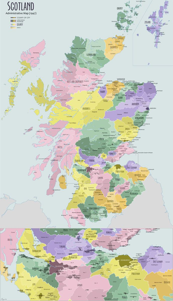 Shires of Scotland