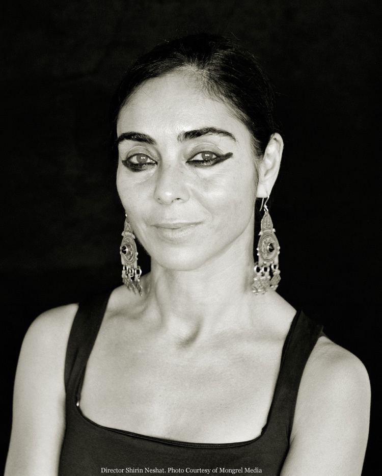 Shirin Neshat SHIRIN NESHAT Via Montenapoleone Milano