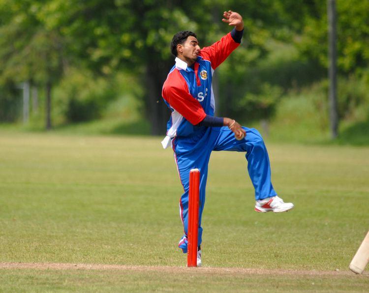 Shiva Vashishat Shiva Vashishat Returns As A Senior USA Cricketers