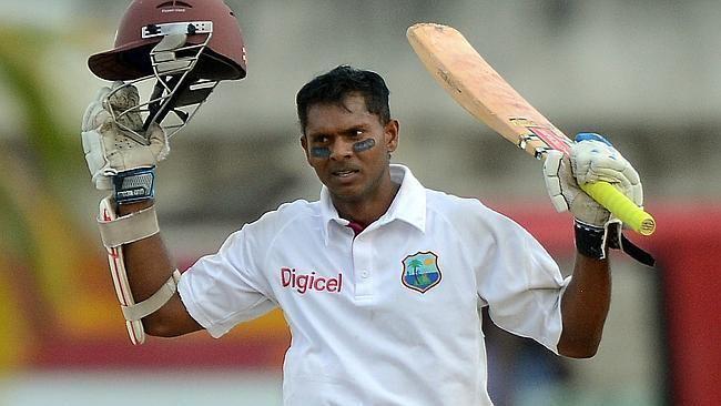 Shivnarine Chanderpaul (Cricketer) playing cricket