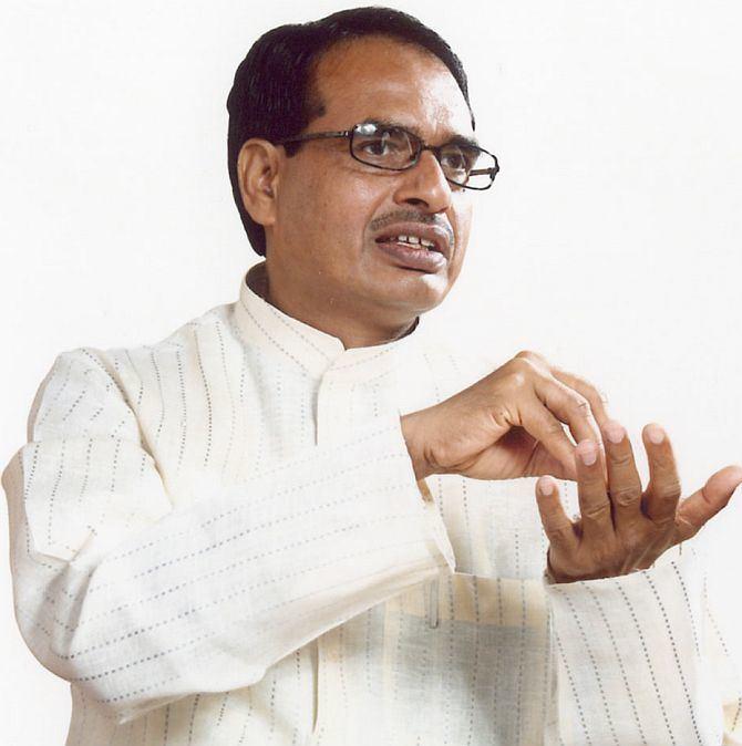 Shivraj Singh Chouhan Shivraj Singh Chouhan A chief minister cornered Rediff