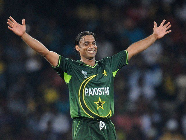 Shoaib Akhtar (Cricketer) in the past