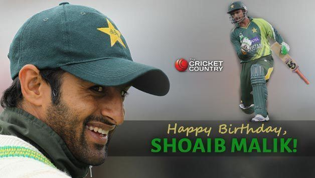 Happy Birthday Shoaib Malik Pakistan allrounder turns 33