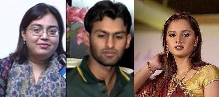 Shoaib Malik (Cricketer) family