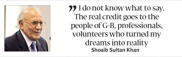 Shoaib Sultan Khan Living legend Colleagues friends pay tribute to Shoaib