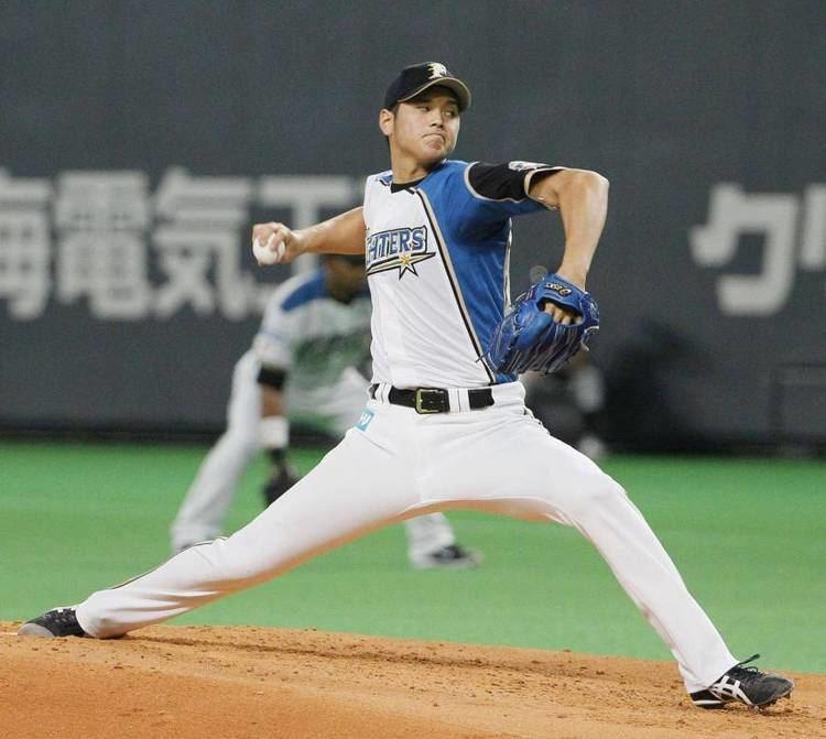 Shohei Otani Otani hits 160 kph with fastball as Fighters beat Carp