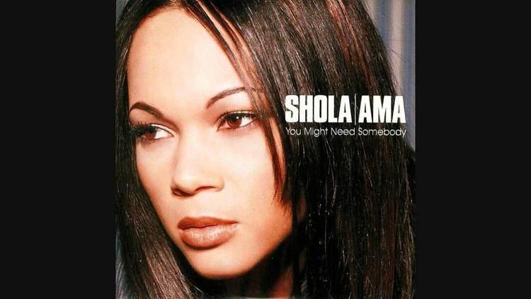 Shola Ama Shola Ama You Might Need Somebody De39 Vide Live