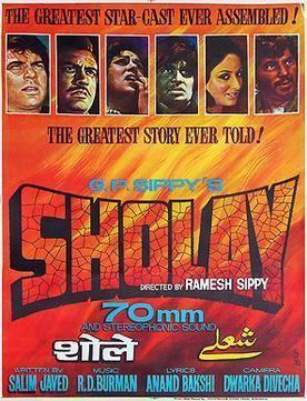 Sholay Sholay Wikipedia