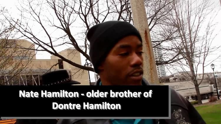 Shooting of Dontre Hamilton Dontre Hamiltons Brother Speaks Day After Red Arrow Park Shooting
