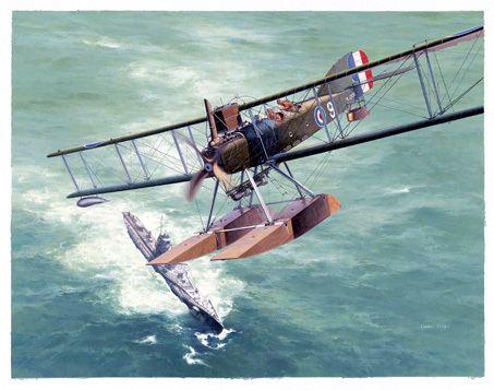 Short Type 184 Artwork from Shigeo Koike Short Admiralty Type 184 Seaplane
