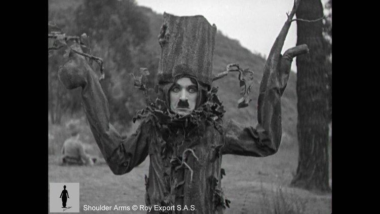 Shoulder Arms Charlie Chaplin Disguised as a Tree Shoulder Arms clip YouTube