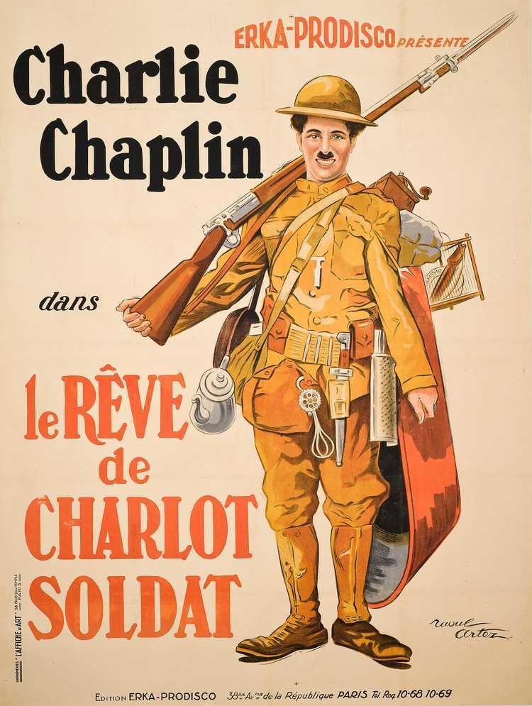 Shoulder Arms SHOULDER ARMSLA RVE DE CHARLOT SOLDAT Christies Vintage Film Posters