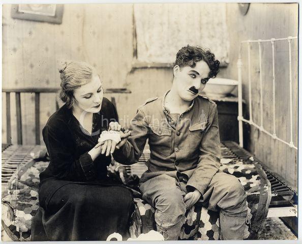 Shoulder Arms Charlie Chaplin Filming Shoulder Arms