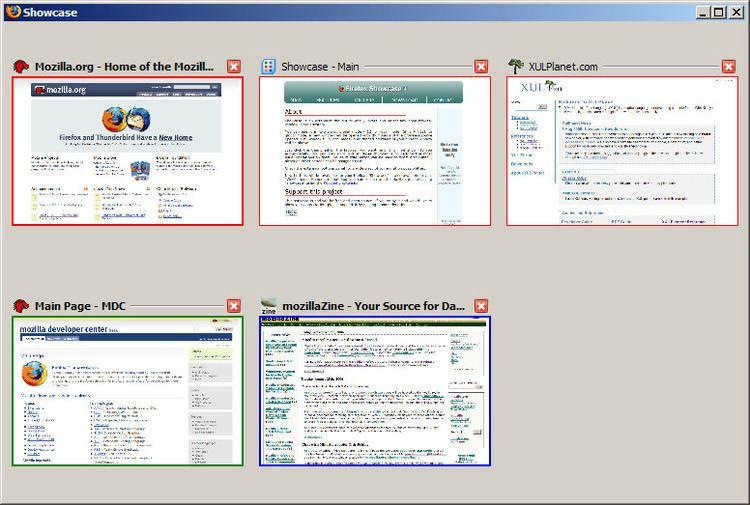 Showcase (Firefox extension)