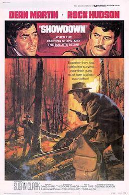 Showdown (1973 film) movie poster