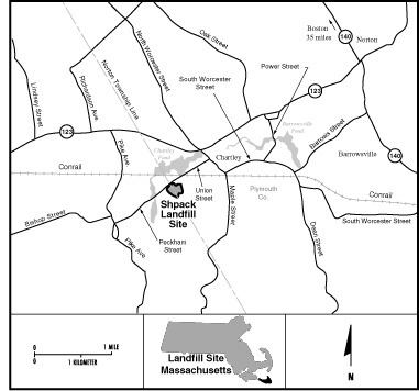 Shpack Landfill Schpack Landfill Shpack Landfill Locality Map Nuclear Pictures