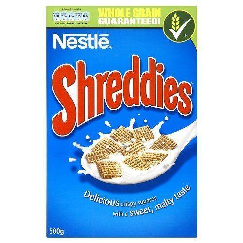 Shreddies Shreddies ReadytoEat Breakfast Cereal 500 g Pack of 5 Amazonco