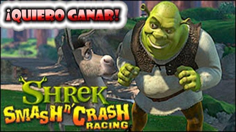 Shrek Smash n' Crash Racing Shrek Smash n39 Crash Racing PSP Gameplay Impresiones A por