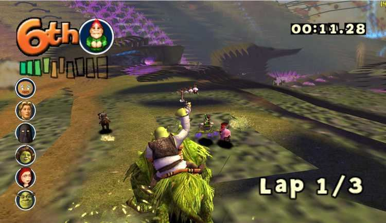 Shrek Smash n' Crash Racing Shrek Smash N Crash Racing ISO lt GCN ISOs Emuparadise