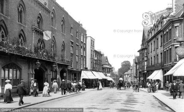Shrewsbury in the past, History of Shrewsbury