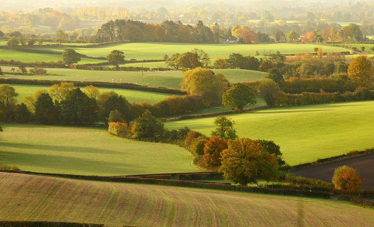 Shropshire Beautiful Landscapes of Shropshire