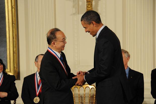 Shu Chien This Week UC San Diego President Obama Awards