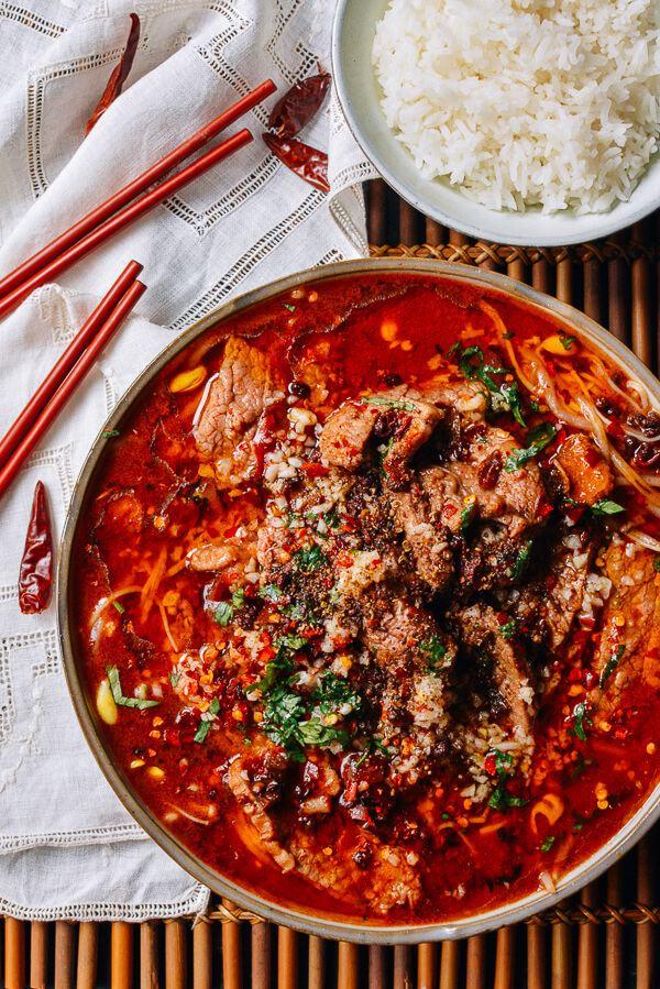Shuizhu Sichuan Boiled Beef Shuizhu Niurou The Woks of Life