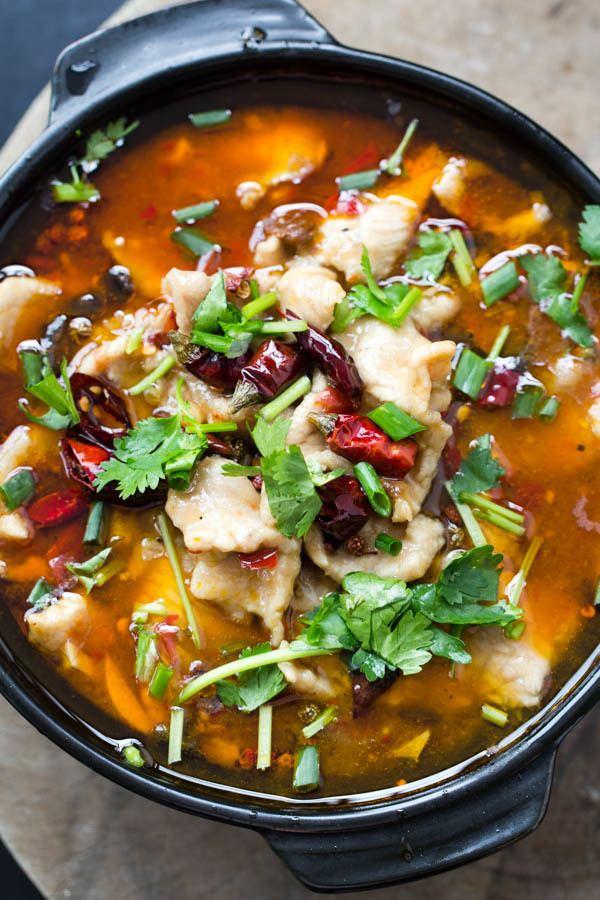 Shuizhu Shui Zhu Pork Szechuan Pork in Spicy Broth China Sichuan Food