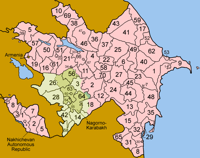 Siazan District in the past, History of Siazan District
