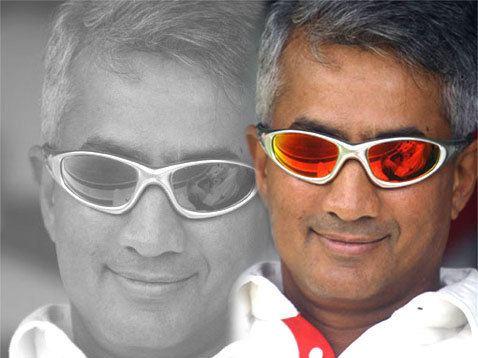 Sidath Wettimuny (Cricketer) playing cricket
