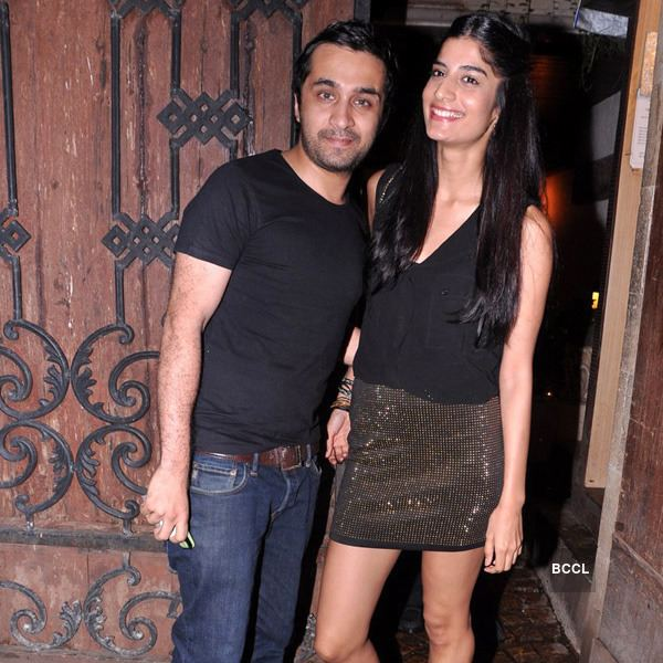 Siddhanth Kapoor Siddhanth Kapoor with his lady love Erika Packard at Arjun