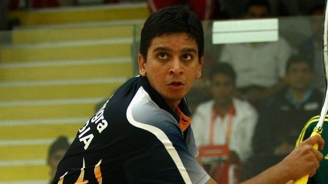 Siddharth Suchde Squash Nationals Siddharth Suchde Sandeep Jangra enter 5th