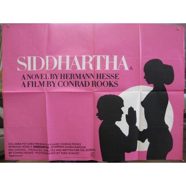 Siddhartha (1972 film) Siddhartha 1972 Original British Quad