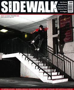 Sidewalk (magazine) movie poster