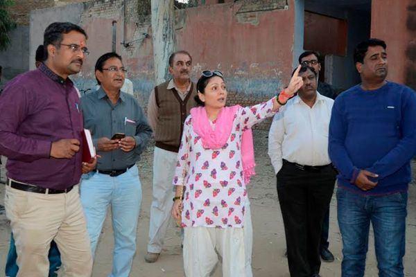 Sidhi Kumari MLA Siddhi Kumari inspected Information and Public Relations Office