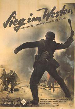 Sieg im Westen movie poster