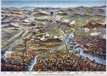 Siege of Ladysmith Siege of Ladysmith a Bird39sEye View39 1900 by A S at Science and
