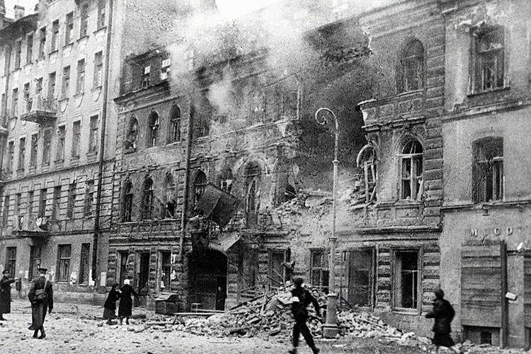 Siege of Leningrad History of St Petersburg during World War II