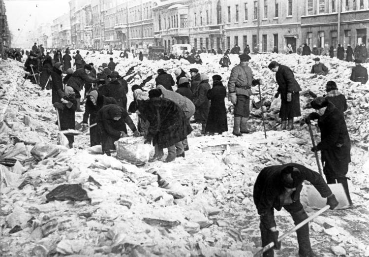 Siege of Leningrad The Siege of Leningrad History in the Headlines