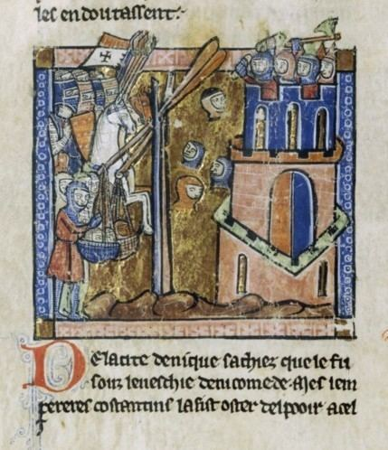 Siege of Nicaea FileCrusadersThrowingHeadsOfMuslimsOverRampartsjpg Wikimedia Commons