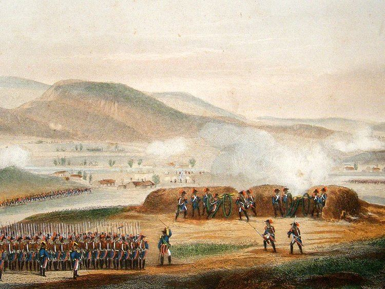 Siege of Toulon Wars C1850 Siege of Toulon France Hand Col Print Albion Prints