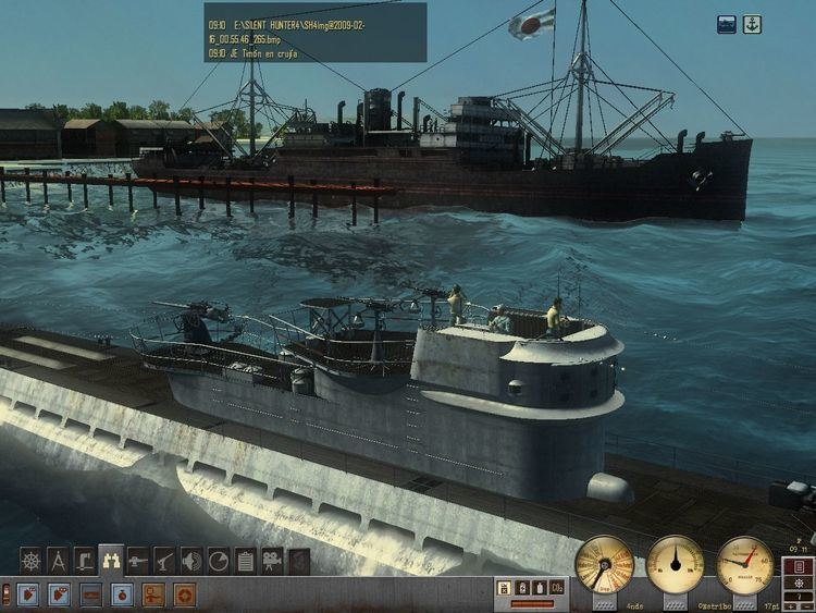 Silent Hunter 4: Wolves of the Pacific Silent Hunter 4 Wolves of the Pacific UBoat Missions Screenshots