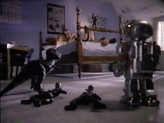 Silent Night, Deadly Night 5: The Toy Maker movie scenes These are NOT the kinds of toys she wanted to bring into the bedroom