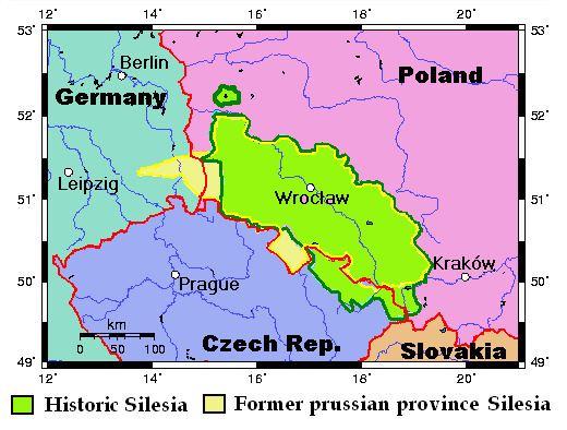 Silesia Silesia a borderland in Central Europe European studies blog