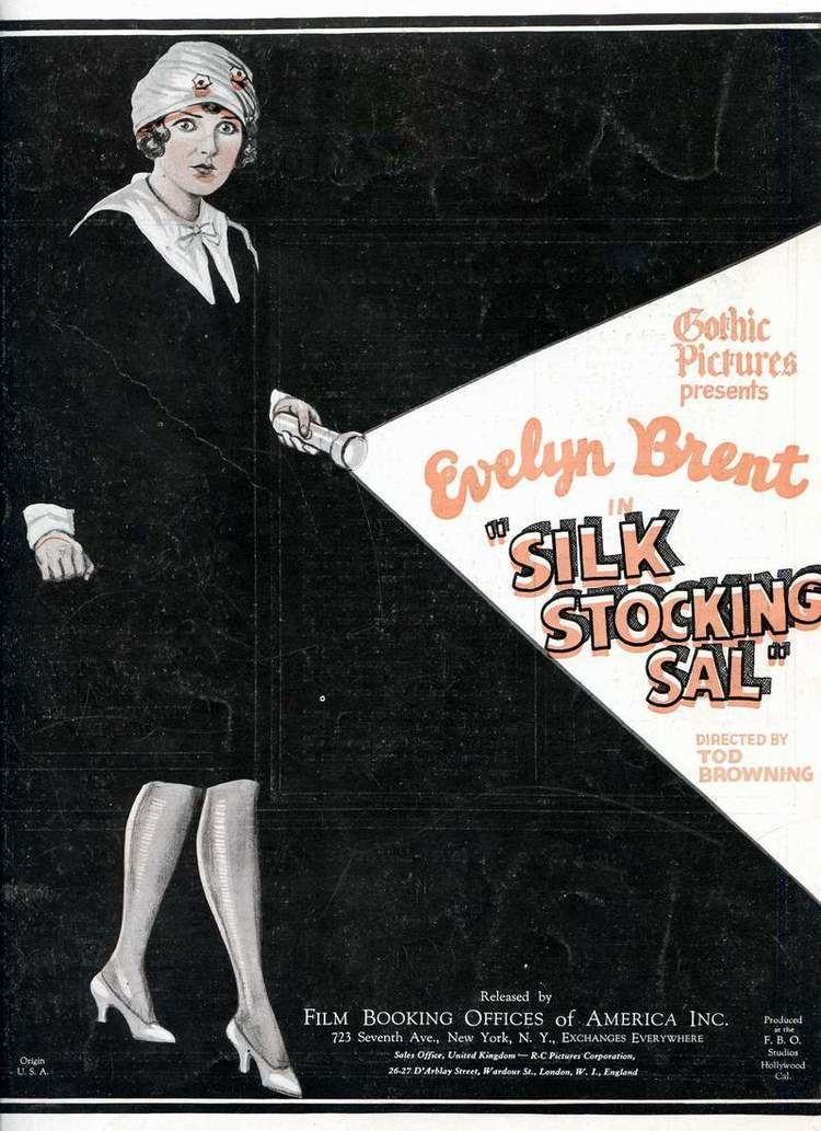 Silk Stocking Sal Trouble In Paradise Evelyn Brent in Silk Stocking Sal