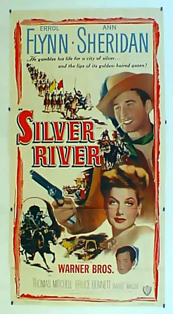 Silver River (film) SOLVFLODEN MOVIE POSTER SILVER RIVER MOVIE POSTER